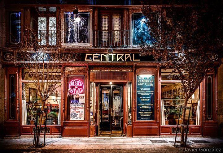 Caf Central del 19 al 25 de Junio Manuel Machado Cuarteto