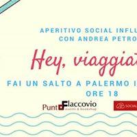 Aperitivo Social Influencer con Andrea Petroni