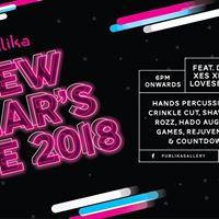 Publika New Years Eve 2018