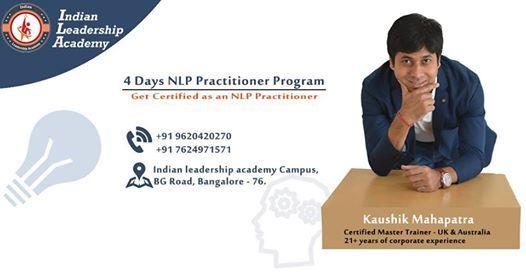 4 Days NLP Practitioner Certification Program