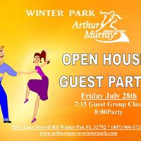 Open House Guest Party