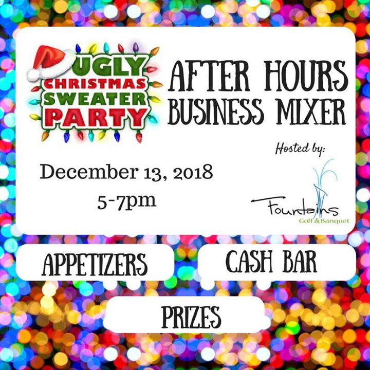 Holiday After Hours Mixer & Ugly Sweater Party