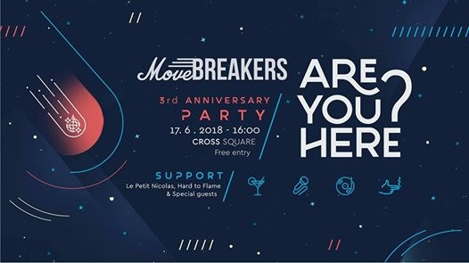 MoveBreakers 3rd Anniversary & Hard to Frame & Le Petit Nicolas