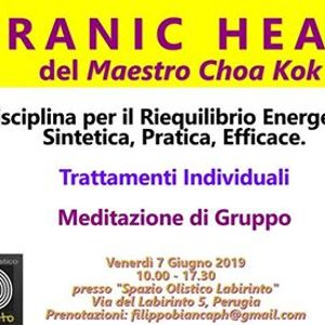 Pranic Healing Perugia - Trattamenti Individuali