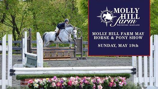 MHF May Horse & Pony Show at Molly Hill Farm, Maryland