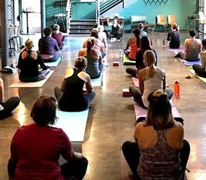 Yogamosas at Lucys with Personal Best Fitness Training