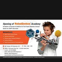 Grand Opening of RoboGenius Academy at Gaur City Noida