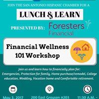 Lunch &amp Learn Financial Wellness 101 Workshop