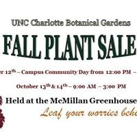 Fall Plant Sale at McMillan Greenhouse