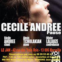 Ccile Andre Trio  Pause