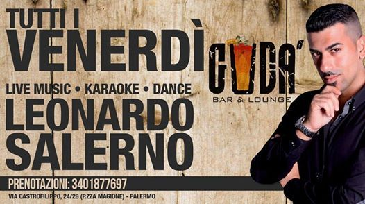 Il Venerd Karaoke e non solo al Gud con Leonardo Salerno