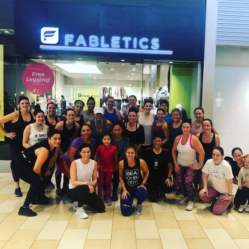 Fabletics February Sweat and Shop