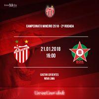 Villa Nova x Boa Esporte  Campeonato Mineiro 2018 2 rodada