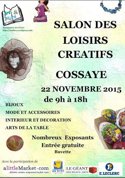 Salon des loisirs cr atifs at cossaye france cossaye - Salon loisirs creatifs orleans ...