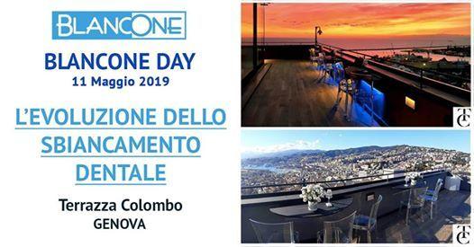 Blancone Day At Terrazza Colombo Genova