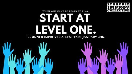Level 1 Improv Class by Syracuse Improv Collective