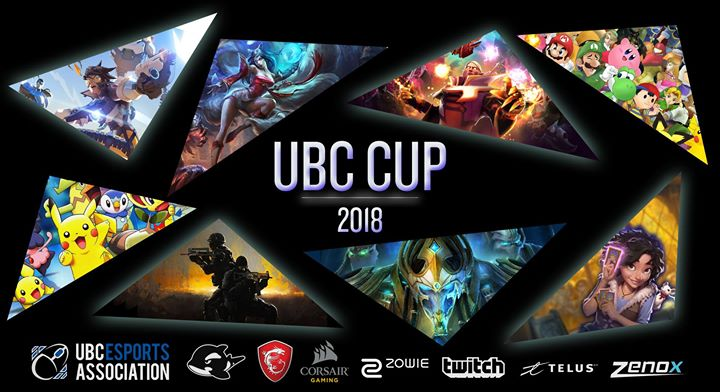 UBC eSports Association presents UBC CUP 2018