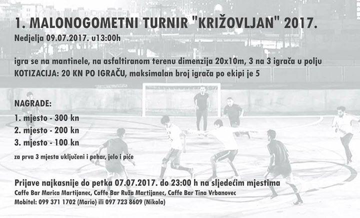 1. Malonogometni turnir Cirkvenica Kriovljan 2017.
