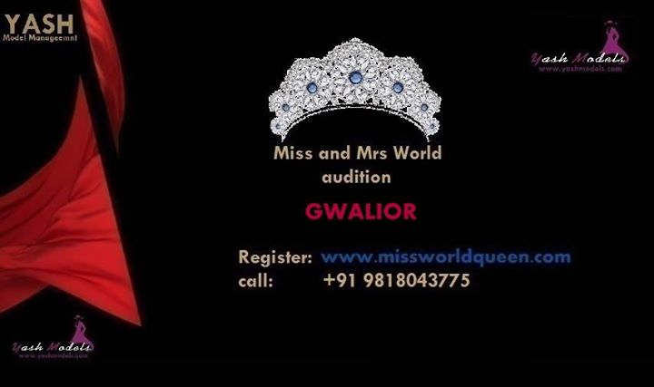 Miss and Mrs Gwalior Madhya Pradesh India World Queen & Mr India