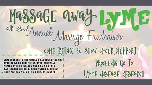Massage Away Lyme - Fundraiser with Lyme Warrior