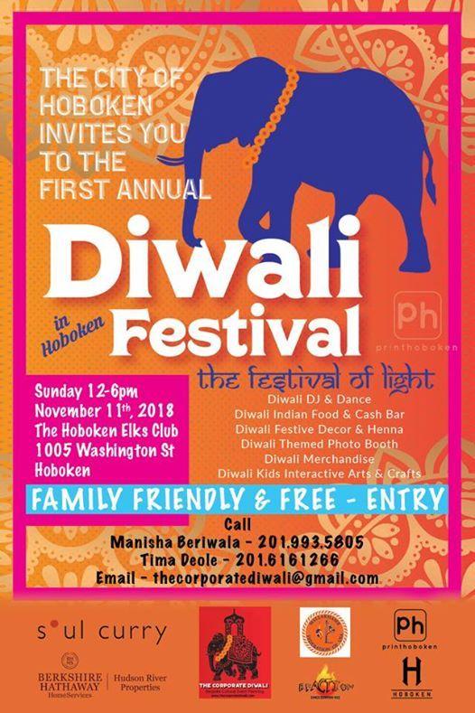 Hoboken Diwali Free Family Day