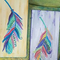 Artistic escapes Whimsical Feathers