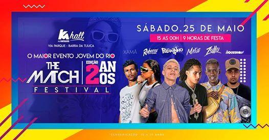 The Match Festival  Edio Especial de 2 ANOS