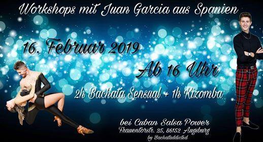 Bachata Sensual  Urbankiz Workshops  mit Juan Garcia