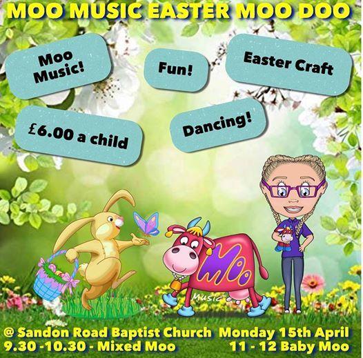 Easter Moo Doo