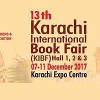 13th Karachi International Book Fair (KIBF)