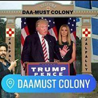 WELCOME TO IVANKA TRUMP (DAAMUST COLONY) JALPALLY