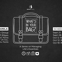 Whats In Your Bag (Health) - Manila Life Group