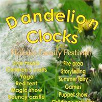 Dandelion Clocks Holistic Family Festival Exeter