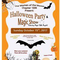 Halloween Party &amp Magic Show