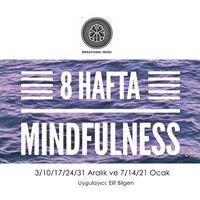 8 Hafta Mindfulness (Aralk-Ocak)