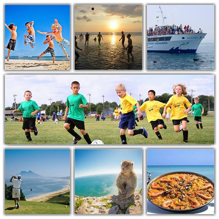 Summer football camp in spain 2016 at sotogrande near for Academie de cuisine summer camp