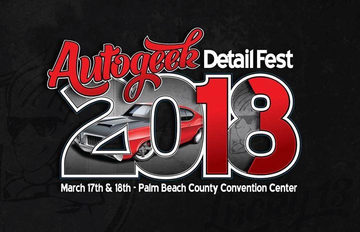 Autogeek Detail Fest Car Show At Palm Beach County Convention - Car show west palm beach 2018