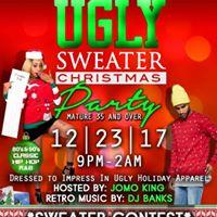 Jomo Kings UGLY Sweater Christmas Party