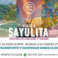Tour Festival Sayulita 2k18 Desde Toluca By VBT
