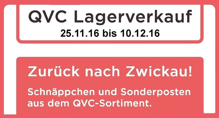 Qvc Lagerverkauf Zwickau 2015 Homeandwoven Com