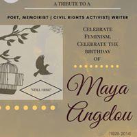 AcTeavism night HBD Maya Angelou