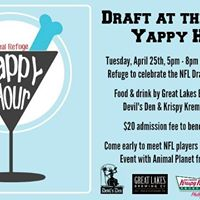 Draft at the Draft Yappy Hour