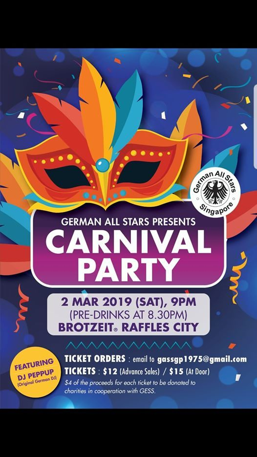 GAS Carnival Party 2019
