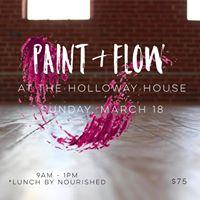 Paint &amp FlowYoga Meditation &amp Art