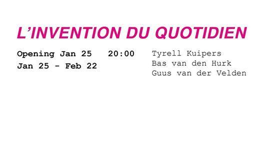 Linvention du quotidien  exhibition at Wallspace