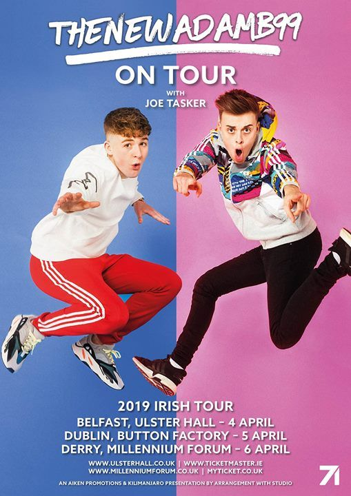 TheNewAdamB99 on Tour - SOLD OUT