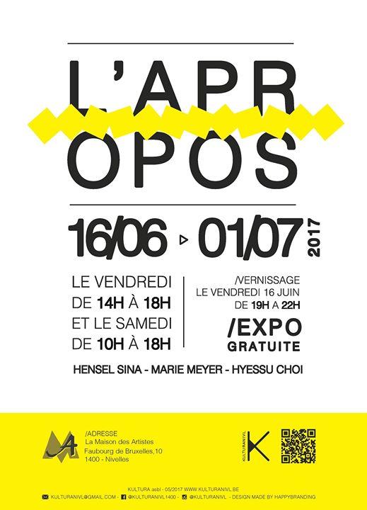 LApropos - Vernissage