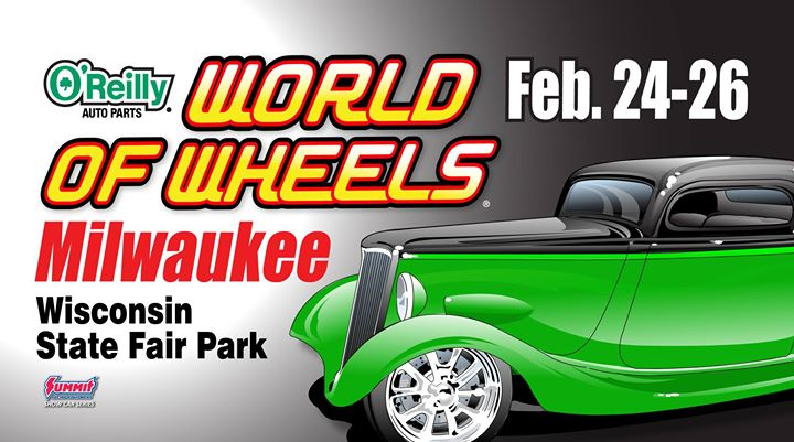 Oreilly auto parts world of wheels milwaukee at for Craft fairs milwaukee wi