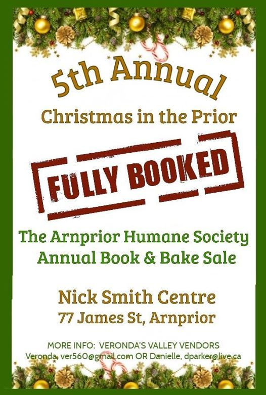 5th Annual Christmas in the Prior