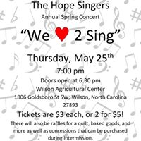 The Hope Singers Spring Concert